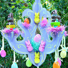 make a chocolate bunny chandelier for easter free tutorial with pictures on how to
