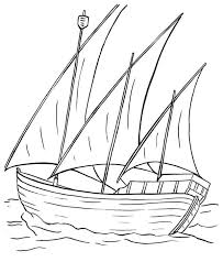 Small Picture Sailing Boat Sail Ove the Sea Coloring Pages Batch Coloring