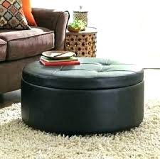 round black leather ottoman round leather coffee table round black leather ottoman round leather coffee table ottoman square black leather black faux