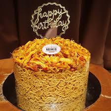 Indomie Money Cake Everylove At Nocakeid Instagram Fotos Und