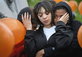 Friends and family gather in Clairton to mourn Armani Ford ...