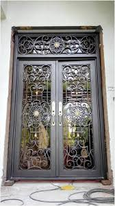 glass front entry doors awesome custom 1600mm x 2600mmwrought iron doors front doors iron entry