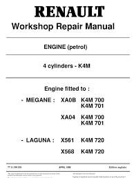 renault km engine diagram renault wiring diagrams workshop repair manual cylinder engine