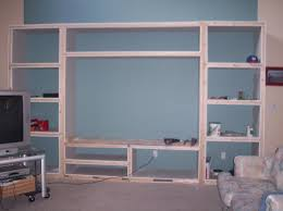 Built In Drywall Shelves Built In Tv Centers Entertainment Center Plans How To