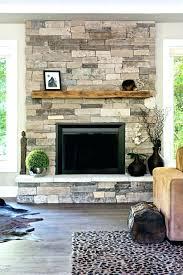 fireplace refacing stone veneer chimney refacing with stone veneer