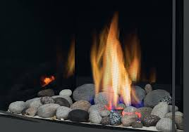 gas fireplace stones s fire kit with mineral rock kit excluding the glass a gas fireplace