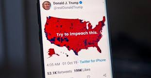 President Trumps Impeach This Map Explained