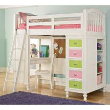 Lovely Teenage Girls Bunk Beds With Beautiful Drawers And Study ...