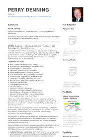Managing Director Resume samples