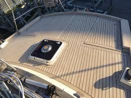 Best Looking Diy Faux Teak Flooring Boat Yacht Boat Deck - Exterior decking materials