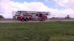 johnson county ks med act 1152 and olathe ks fd truck 52 responding 9 3 18 1453hrs