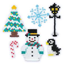 Nintendo Excite Bike Perler Bead Christmas Tree TopperPerler Beads Christmas Tree