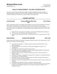Qa Sample Resume Resume For Study