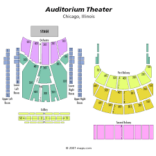 Auditorium Theatre Chicago Il Seating Chart King Crimson Chicago Tickets At Auditorium Theatre Il On