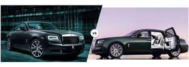 Power is unleashed with black badge wraith. Rolls Royce Ghost Vs Wraith Which Is Right For You Holman Motorcars