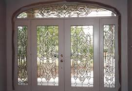 glass entry doors beaumont leaded