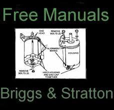 how to repair a briggs stratton starter mower hubpages starter diagram