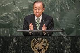 Resultado de imagem para Em meio a dúvida dos EUA, chefe da ONU diz que acordo climático é essencial
