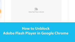 How to Fix Adobe Flash Player Blocked Error in Chrome Browser - YouTube