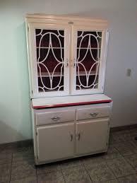 Apartment Size Hoosier Cabinet Antique Vintage Hoosier Cabinet Kitchen W Flour Bin Storage