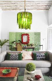 2 tier woodland green chandelier in sitting room