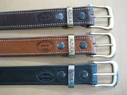 azula custom 1 5 inch plain leather belts