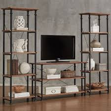 Myra Vintage Industrial Modern Rustic 3piece TV Stand Set By INSPIRE Q  Classic Rustic Industrial Tv Stand I4