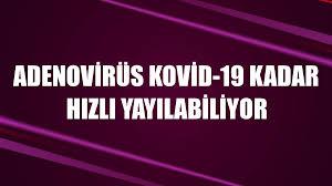 Adenovirüs Kovid-19 kadar hızlı yayılabiliyor - Diyadinnet