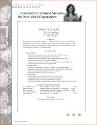 Fresh Collection Of Job Resume Examples No Experience Business