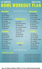whether your goal is to lose weight gain muscle or get fit check out our men s and women s workout plan no equipment needed this workout