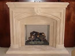 normandy style custom cast stone fireplace surroundantels throughout cast stone fireplace surround regarding your property