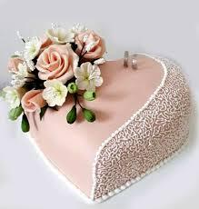 Heart Shaped Engagement Cake With Roses 2kg Sri Lanka Online