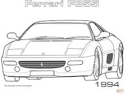 Classic Coloring Pages Ferrari Printable For Beatiful Ferrari