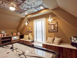how to install a stamped tin ceiling