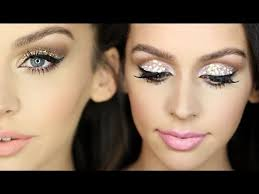 2 sparkly new years eve makeup looks