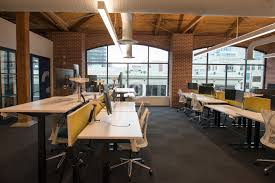 loft office space. Trendy Modern Open Concept Loft Office Space With Big Windows, Natural Light And A Layout To Encourage Collaboration, Creativity Innovation O