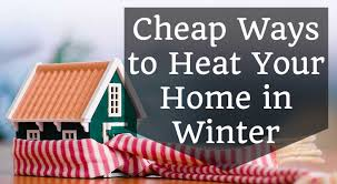 ... . Green ways to heat your home: