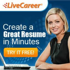 live careers free resume maker