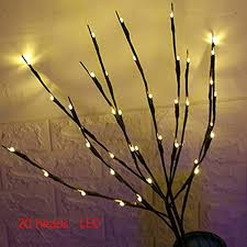 Christmas Branch Lights Twig Branch Lights Led Branches Battery Powered Decorative Lights