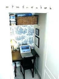closet office. Closet Desk Computer Ideas Inspiring Office Organization