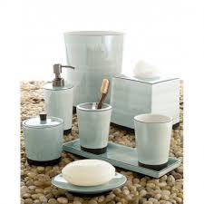 Designer Bathroom Accessories Sets Apartments Elegant White Kassatex Tribeka Acrylic Bath