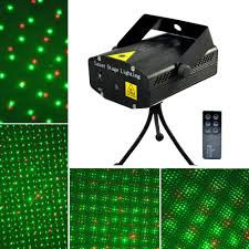 mini rgb projector holographic laser stage light sound active dj dance studio laser with remote portable in stage lighting effect from lights lighting