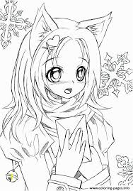 Kawaii Anime Girl Coloring Pages Zabelyesayancom