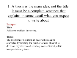 the thesis statement a road map for your essay essay introduction your thesis statement will have two parts the first part states the topic