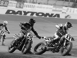 flat track racing kawasaki ninja 650 motorcyclist