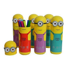 6th dimensions minion shaped sketch pens set in box for kids birthday party return gift 6 box best s in india rediff ping