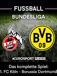 Bvb) aufstellen oder lieber den bremer schmid(gegen wolfsburg)? Amazon De Das Komplette Spiel 1 Fc Koln Gegen Borussia Dortmund Ansehen Prime Video