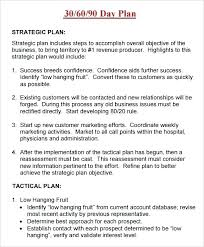 Sales Plan Document Sample Sales Plan Format Iso Certification Co