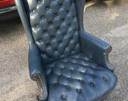 tufted leather executive office chair. Vintage Leather Executive Tufted Chair..FREE Shipping ! Office Chair A
