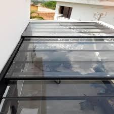 Dispomos ainda de proteções laterais em vidro. Cobertura De Vidro Temperado Em Sp